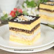 ciasto snikers wg s. Anastazji