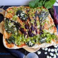 """Pizza """"BB"""" czyli bób i botwinka"""