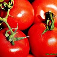 Sok pomidorowy z natką piteruszki.