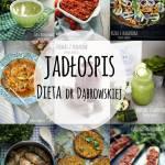 Jadłospis tygodniowy  - dieta dr Dąbrowskiej