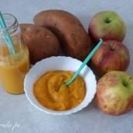 Bataty z jabłkiem