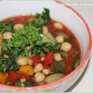 Ciecierzyca z warzywami i