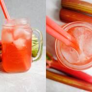 Lemoniada rabarbarowa (3 składniki)