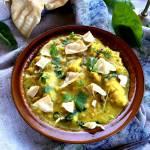 Kalafiorowe curry z szpinakiem