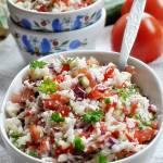 Surówka z kalafiora i warzyw