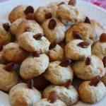 Wegańskie cytrynowe ciasteczka z migdałami