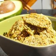 Ciasteczka sezamowo – zbożowe. Jak ukryłam w nich awokado.