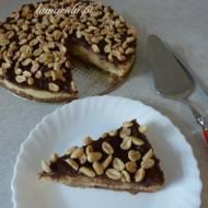 Jaglane ciasto z orzeszkami ziemnymi