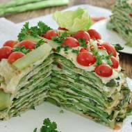 Tort szparagowo ogórkowy