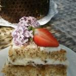 tort bakaliowy z konfiturą figową