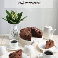 Aromatyczne ciasto z rabarbarem i karmelem!