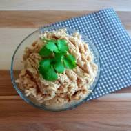 Pasta kanapkowa z tuńczyka i ciecierzycy