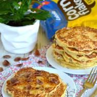 Puszyste pancakes pełne zdrowia
