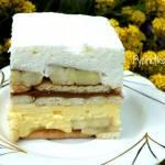 Banoffee ciasto bez pieczenia
