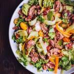 Tajska sałatka z wołowiną