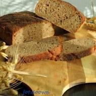 Chleb pszenno - żytni na zakwasie długodojrzewający