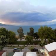 Pogradec i okolice - jezioro Ochrydzkie po stronie albańskiej