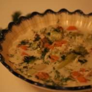 Zupa kalafiorowa z kluseczkami