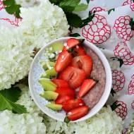 Jaglanka truskawkowa z chia