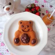 Marchewkowe misie z czekoladowym nadzieniem (Orsetti alle carote con cuore di cioccolato)