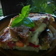 Kanapka na ciepło- smak włoskiej bruschetty... inaczej