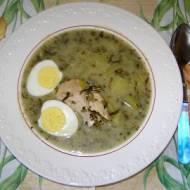 na piersi kurczaka szczawiowa zupa...