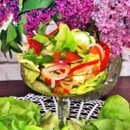 Sałatka wiosenna do obiadu