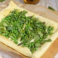 Tarta z zielonymi warzywami