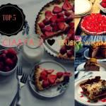 5  najlepszych ciast z truskawkami