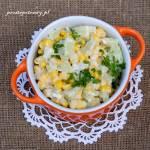 Sałatka z kukurydzą i selerem