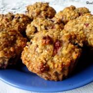 Dietetyczne muffinki owsiane z owocami