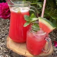 Lemoniada arbuzowo - rabarbarowo - miętowa