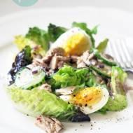Sałatka z jajkami i tuńczykiem