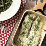 Karp pieczony w sosie – kuchnia podkarpacka