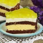 Tort ananasowo- śmietanowy z galaretką