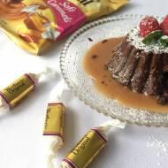 Karmelowe lava cake bez pieczenia