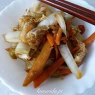 Wegańskie kimchi (bez gotowania)
