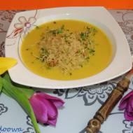 Zupa krem z pasternaku z komosą ryżową