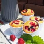 Jogurtowe muffiny z owocami