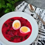 Botwinka z jajkiem, czyli wiosenna zupa w 20 minut