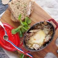 Jajka zapiekane z grzybami / Baked eggs with mushrooms