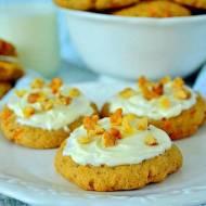 Miękkie ciasteczka z marchewką