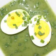 Zupa krem szpinakowa