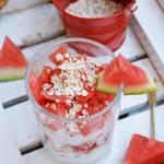 Deser arbuzowy z jogurtem