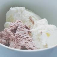 Domowe lody kakaowe i brzoskwiniowe