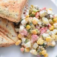 Przepis #35 Lekka dietetyczna sałatka warzywna