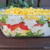 Szybka sałatka z jajkami