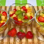 Sałatka Owocowa – Sałatka z owocami tropikalnymi