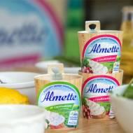 4 lekkie, wiosenne przepisy z nowymi serkami Almette