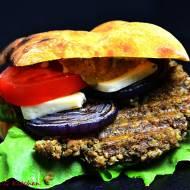 Burger z kaszanki